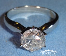 1.88 CARAT Diamond Engagement Ring Solitaire
