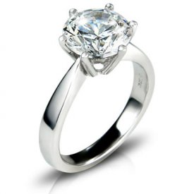 3.04 carat solitaire ring