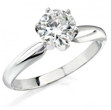 1.63 carat beautiful Diamond solitaire engagement ring